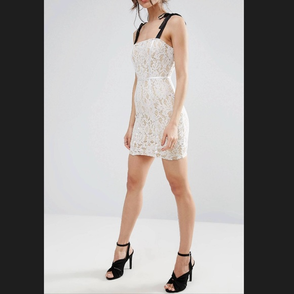 ASOS Dresses & Skirts - ASOS Lace Bodycon Dress!